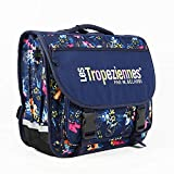 Les Tropeziennes par M.Belarbi Cartable Les Tropeziennes ref_trop43782 Bleu 41*38*15