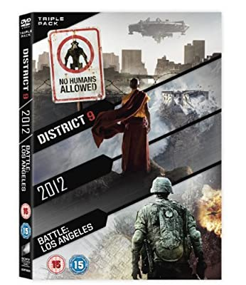 District 9 / 2012 / Battle: Los Angeles Triple Pack [DVD] by Sharlto Copley