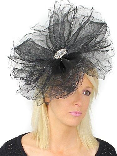 Superbe Oryctérope Grand Ascot Derby Bibi Chapeau–avec bandeau–Disponible en 30couleurs Ecru - Vison