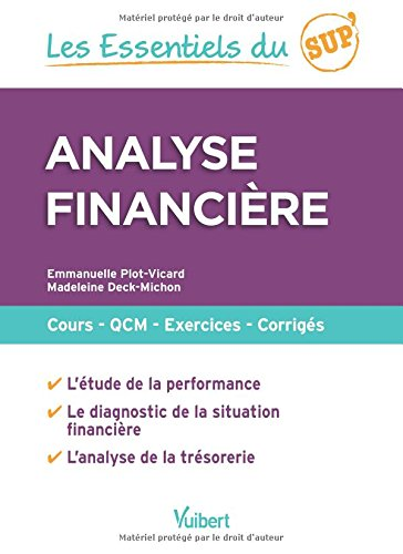 Analyse financire : Cours - QCM - Entranement - Corrigs