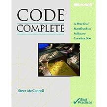 Code Complete: Practical Handbook of Software Construction (Microsoft Programming)