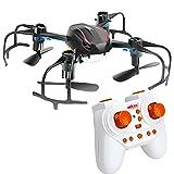Mini Drone Quadricottero Radiocomandato Elica Rovescia UFO Quadcopter con Telecomando 2.4GHz LED Giroscopio a 6 Assi Ricaricabile Headless Mode 3D Flip