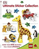 By Taylor, Vicki ( Author ) [ Lego Duplo Ultimate Sticker Collection [With More Than 600 Reusable Full-Color Stickers] ] Apr - 2009 { Paperback }