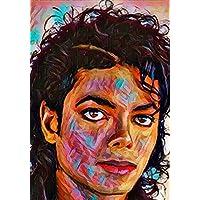 """Aluminium metal wall art """"Michael Jackson"""""""