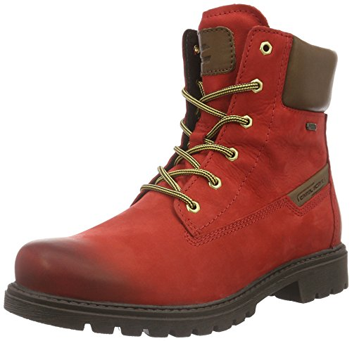 camel active Outback Gtx 72, Stivaletti Donna Rosso (red/bison 11)