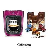 Tchibo Cafissimo mini Kaffee Kapselmaschine inkl. 90 Kapseln, Wild Berry