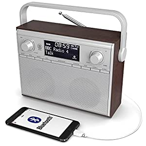 impington dab dab digital fm portable radio with electronics. Black Bedroom Furniture Sets. Home Design Ideas