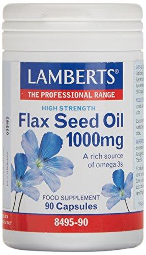 Lamberts Aceite de Semillas de Lino 1000 mg - 90 Cápsulas