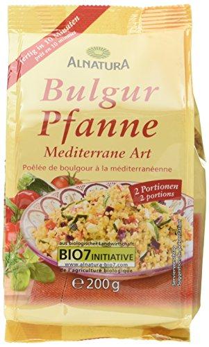 Alnatura Bio Bulgur Pfanne, 5er Pack (5 x 200 g)