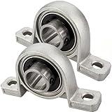 JBS basics 2 Stück KP000 Lagerbock Gehäuselager 10mm Welle CNC 3D Drucker KP Flansch-Kugellager