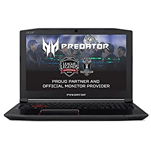 "Acer Predator Helios 300 G3-572 - Ordenador Portátil 15.6"" FHD IPS (Intel Core i7-7700HQ, 8 DE GB RAM, HDD de 1 TB y 128 GB SSD, Nvidia Geforce GTX1060 de 6 GB, Windows 10 Home) Negro"