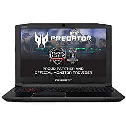 "Acer Predator Helios 300 PH315-51-53MZ - Ordenador portátil DE 15.6"" Full HD (Intel Core i5-8300H, 8 GB RAM, 1000 GB HDD, Nvidia GeForce GTX 1060, Windows 10 Home) Negro - Teclado QWERTY Español"