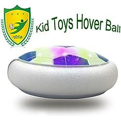 JRD&BS WINL Divertido BalÓN De Juguete-LED Bola De SuspensiÓN De Aire Deportes De Interior O Al Aire Libre, Regalos De Cumpleaños Para Niños De 4-8 Años(Style1 Blue)