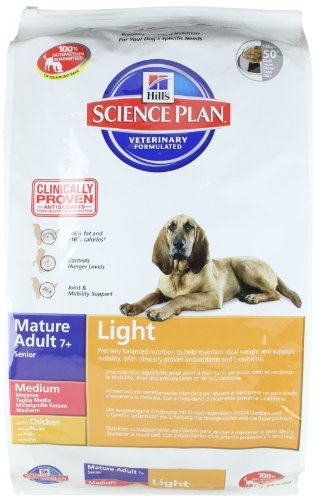 Hills Canine Mature Adult Senior Light Hundefutter 12kg