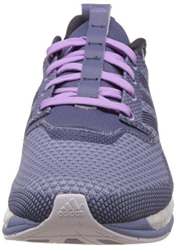 adidas Damen Adizero Feather Boost Laufschuhe Violett (Super Purple S16/Super Purple S16/Prism Blue F13)