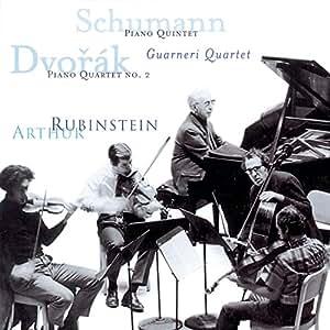 Schumann : Quintette avec piano en mi bémol majeur, op. 44 - Dvorak : Quatuor avec piano n° 2, en mi bémol majeur, op. 87 [Import allemand]