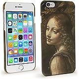 """igadgitz Coque Rigide Etui Housse de Protection Motifs pour Apple iPhone 6 & 6S 4.7"""" - La Vierge aux rochers par Léonard de Vinci Coque (National Gallery)"""