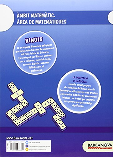 Ninois 1r CI. Matemàtiques. Quadern 3 (Materials Educatius - Cicle Inicial - Matemàtiques) - 9788448937751