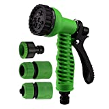 #4: Orpio 7 Function High Pressure Car/Bike/Gardening Wash Nozzle Water Gun Spray (Green)