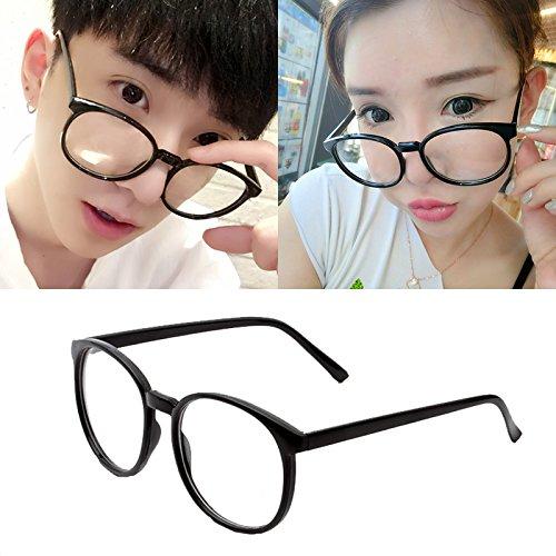 koreanische brillen - frame ms.man absatz flut retro - leopard dekorative brillen rahmen,die hauptfigur der farbe hellen schwarz (tuch)