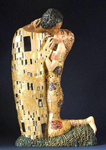 Estatua Museo Replica - El Beso - basado obra Gustav