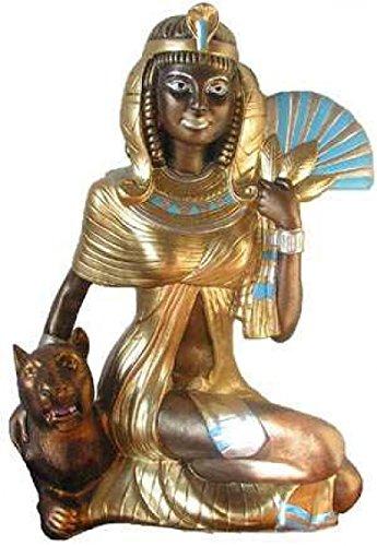 Ägyptische Dekoartikel – Frau mit Fächer – Ägyptische Figuren – AE074