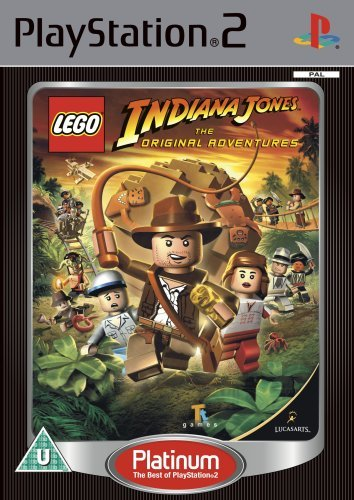 Lego Indiana Jones the Original Adventures - Platinum Edition (PS2) by ACTIVISION