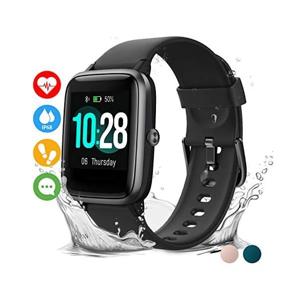 Vigorun Reloj Inteligente Pantalla Táctil Smartwatch para Hombre Mujer Niños Impermeable IP68 Pulsera Actividad Reloj… 1