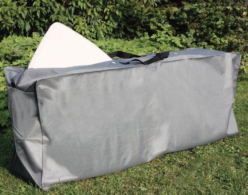 Consul Garden 542334 Tragetasche für Auflagen anthrazit Polyestergewebe Oxford 600 D / L 130 x B 32 x H 50 cm