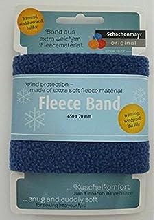 Farbe: grau Gr/ündl 1296-300 Fleece Band 65 x 6 cm 100 Prozent Polyester
