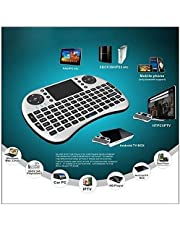 EASY Mini Portable Wireless Keyboard with Built-in Mouse Combo