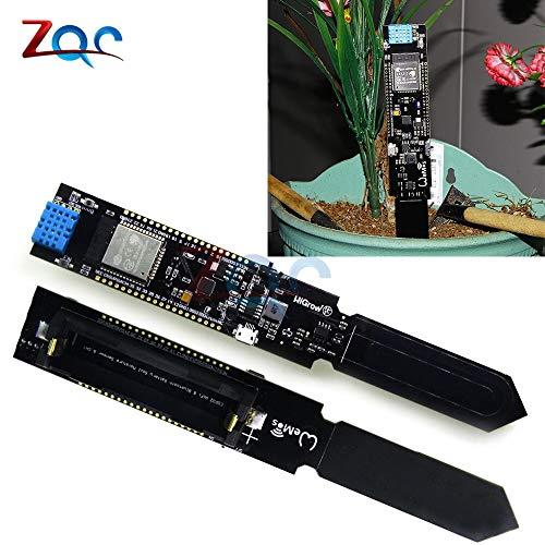 Temperatur-feuchte-sensor (ESP32 CP2104 WIFI Bluetooth DHT11 Temperatur Feuchte BodenFeuchte Sensor Erkennungs Modul für Arduino 18650 Akku-Schild)