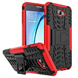 Case For Samsung Galaxy J7 Prime Cover For Samsung Galaxy J7 Prime Bigzook Samsung Galaxy J7 Prime Armour Case , Hard Hybrid Rugged Bumper Kick Stand