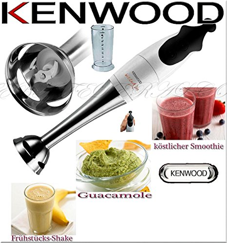 Kenwood HB615 Stabmixer weiss/inox