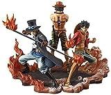 Banpresto One Piece DXF Figure, Brotherhood II Set of 3 by Banpresto