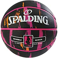Spalding NBA Marble 4HER out SZ.6 (83-875Z) Basketballs, Juventud Unisex, Multicolor, 6