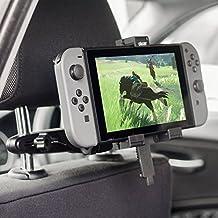 Olixar Nintendo Switch Halterung Auto/KFZ Halterung/Tablet Halterung Moint - 360 Grad Rotation - Hüllenfreundlich