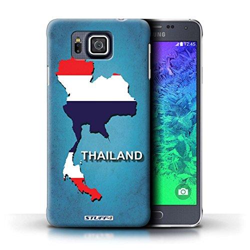 iCHOOSE Print Motif Coque de protection Case / Plastique manchon de telephone Coque pour Apple iPhone 5/5S / Collection Drapeau Pays / Italie/Italien Thaïlande/Thai