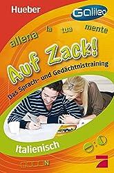 Italienisch Auf Zack!: Das Sprach- und Gedächtnistraining / Buch