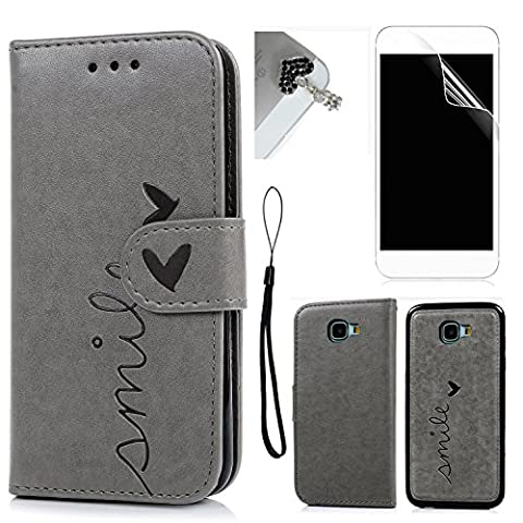 Protective Back Cover for Samsung Galaxy A3 (2017), Bonice Embossing