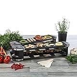 Ultratec RG1200 Raclette (1200 Watt, Duo 4 Gelenkgrill, Raclette-Grill für bis zu 8 Personen) - 3