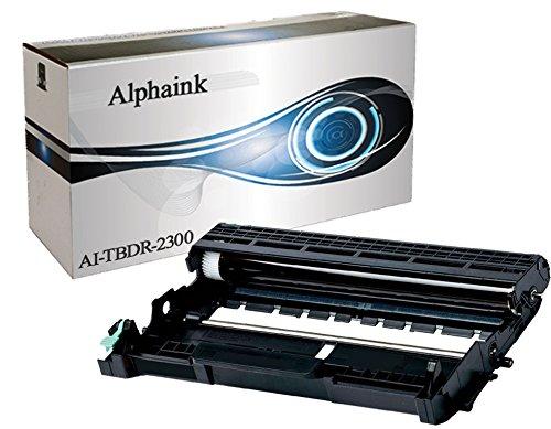 Alphaink AI-DR2300 Tamburo Drum per Brother Stampanti Brother HL-L2300D HL-L2340DW HL-L2360DN HL-L2365DW DCP-L2500D DCP-L2520DW DCP-L2540DN MFC-L2700DW MFC-L2740DW DCP-L2560DW MFC-L2720DW