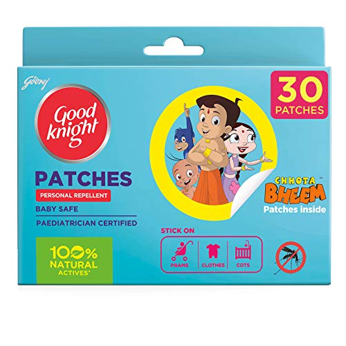 Goodknight 100% Natural Mosquito Repellent Patches (Pack of 30)