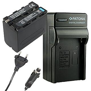 Ladegerät PATONA + Akku für SONY NP-F970 NP-F960 F950 DCR-VX2100 HDR-FX1