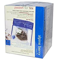 Two Leaves and a Bud Alpine Berry Herbal Tea, Tea Bags, 15-Count Box