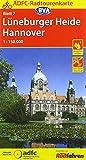 ADFC-Radtourenkarte 7 Lüneburger Heide /Hannover 1:150.000, reiß- und wetterfest, GPS-Tracks Download und Online-Begleitheft (ADFC-Radtourenkarte 1:150000, Band 7)