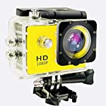 Rewy pRO_01 HD 12MP Waterproof Sports Action Camera with 170˚ Ultra Wide-Angle Lens & SD Card/HDMI Slot Compatible with...