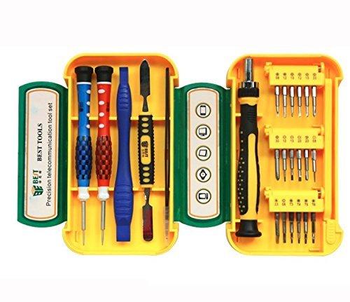Set di utensili di precisione per riparazione professionali 24 in 1, 5APow, per riparazione di cellulari ed elettrodomestici, comprende pinzette, cacciaviti e attrezzi per cellulari, occhiali e altri dispositivi