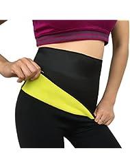 Imixcity® Sauna Ceinture de Fitness HOT Minceur et ventre plat en neoprene fitness shape (34-42)