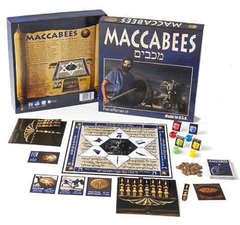Ein Brettspiel Maccabees (Board Game) fur Chanukah, Chanukka Geschenk